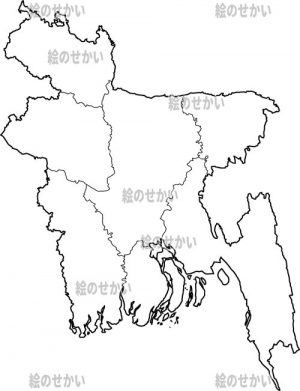 I have created a blank map of East Asia, so I will introduce it! The contents of this material set are East Asia region, Bangladesh, Bhutan, India, Nepal, Pakistan, Sri Lanka, and 6 kinds of various world maps. All 40 types of 2 versions of transparent PNG and JPG data. Since it is transparent, it can be processed freely!