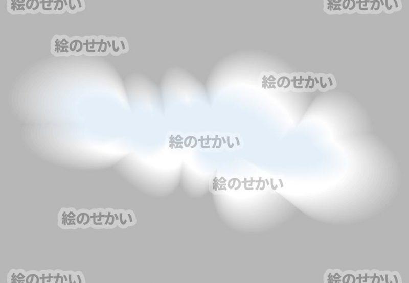 雲のイラストサンプル3