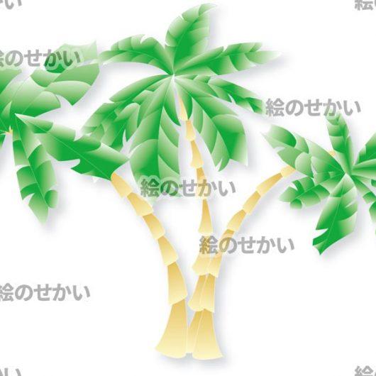 ヤシの木のイラストサンプル