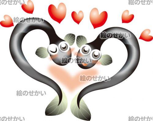 鰻のキャラクターイラストサンプル