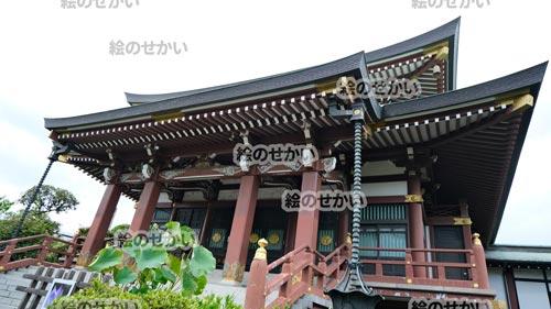 お寺の背景写真サンプル4
