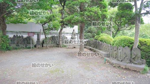 お寺の背景写真サンプル3