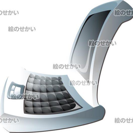 ノートパソコンのイラストサンプル